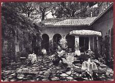 ROMA FIUMICINO 12 FREGENE ALBERGO RISTORANTE Cartolina FOTOGR. viagg. 1955