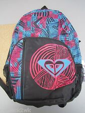 NEW ROXY BACKPACK BOOK SCHOOL STUDENT BAG Black Blue Red