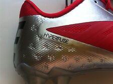 NEW Nike Vapor Talon Elite LW Cleats RED CHROME SILVER US 12 / UK 11 / EUR 46
