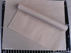 4 x Backfolie 33x40x0,08 deutsches Qualitätsprodukt- Dauerbackfolie-Trennfolie