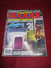 AMERICAN RODDER #48 - FLATHEADS FOREVER - May 1993