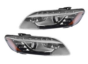 NEW PAIR OF OEM TRI-XENON HEADLIGHTS FITS AUDI Q7 PREMIUM 10 4.2L AU2519103
