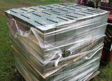 (4)  .50 CAL AMMO CANS M2A1 MILITARY SURPLUS BULK LOT STORAGE BOXES