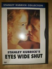 Eyes Wide Shut (Dvd, 2001, Stanley Kubrick Collection)rare oops snapcase