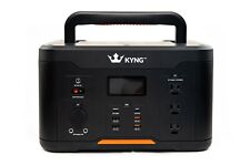 Kyng 1166Wh Portable Power Station Solar Generator Emergency Qi Charger Cpap Rv