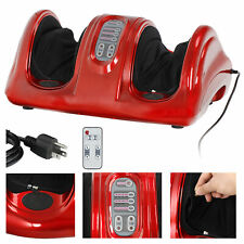 Electric Red Relax Remote Massage Machine Ankle Leg Muscle Shiatsu Foot Calf