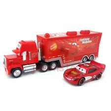 Disney Pixar Car No.95 Mack Racer's Truck & Lighting Mcqueen Toy Car Loose New