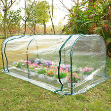 New Mini 7'x3'x3' Portable Flower GreenhouseOutdoor Gardening Patio Hot House