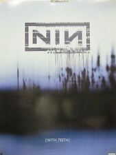Nine Inch Nails 2005 (with teeth) Interscope Records promo poster New old stock