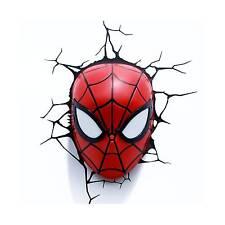 Marvel Ultimate Spiderman Spidey Mask 3d Deco Light