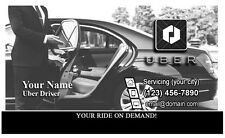 UBER Business cards 250 - Front and Back - DESIGN & SHIPPING - FREE