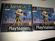 MediEvil 2 Original Black Label Sony Playstation PS1 PAL