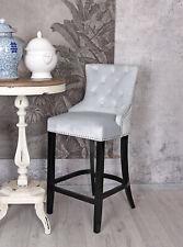 BAR Stool Velvet Metal Ring Kitchen Stool Dining Chair
