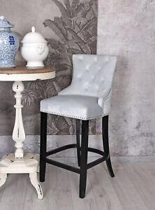 BAR Stool With Leaning Retro Samtstuhl BAR Stool Kitchen Chair
