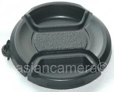 Front Lens Cap For Canon Powershot Sx10 IS Leash Holder Snap-on