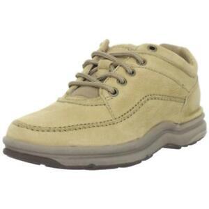 Rockport Men's World Tour Classic EVA Flexible Walking Sneaker Beige Size 11