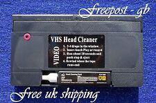 VHS & S-VHS Video bagnate o asciutte HEAD CLEANER / NASTRO DI PULIZIA / CASSETTA-CON FLUIDO