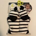 Go By Goldbug Strap Cover Pals For Car Seat Straps Strollers  More Zebra NEW