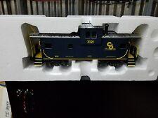K-Line K613-1251 Chesapeake & Ohio Extended Vision Caboose #3121 NIB