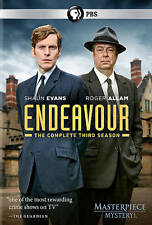 PBS: Endeavour: The Complete Third Season 3 Three (DVD, 2016) New Free Shipping