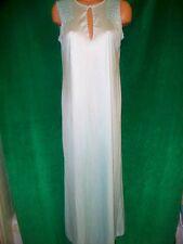 Gossard Artemis vintage aqua long gown sz S Bust 37-38 Great Condition Usa