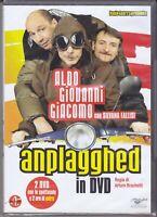 2 Dvd Box Set Cofanetto ANPLAGGHED ALDO GIOVANNI E GIACOMO nuovo 2006