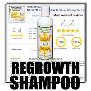*NEW* HAIR RENEW ® SHAMPOO natural loss regrowth regrow treatment thin alopecia