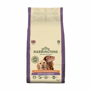 Harringtons Complete Senior Rich In Chicken & Rice Dry Dog Food 2Kg Natural Diet