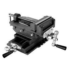 EBERTH 2-Achsen Kreuztisch Frästisch Schraubstock Maschinenschraubstock 125mm