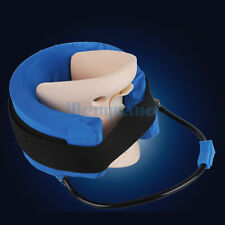 Cervical Vertebra Tractor Neck Therapy Device Pain Relief Air Inflation Traction