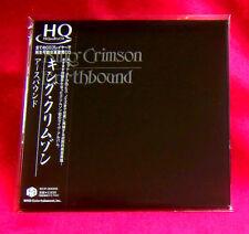 King Crimson Earthbound MINI LP CD HIGH QUALITY HQCD JAPAN IECP-30005