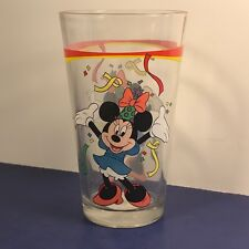 WALT DISNEY MICKEY MOUSE GLASS MUG CUP MINNIE GIBSON EVERYDAY PARTY CONFETTI 3