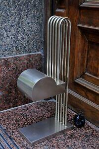 Bauhaus style table lamp, Marcel Breuer design, 20th century,