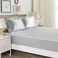 """Fitted Sheet 1000 Thread Count Egyptian Cotton RV-King 72""""X 80"""" All Colors"""