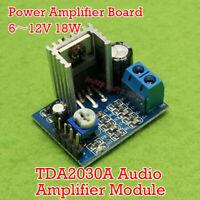 TDA2030A Audio Amplifier Module Power Amplifier Board AMP 6~12V 18W Power Supply