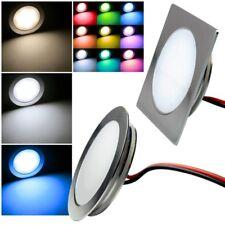 Slim LED Luminaria Empotrable Aluminio 12V 0,5W IP67 Firme Foco Wand-Leuchten