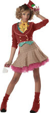 The Mad Hatter Teen Costume Junior Size 3-5 Excellent Condition