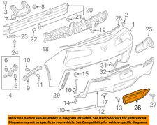 Chevrolet GM OEM 14-18 Corvette Rear Bumper-Heat Shield 22777902