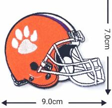 Clemson tigers  helmet Patches Logo Embroidery Iron on ,Sewing on Clothes