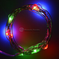AA Battery Operated 2M Xmas Tree LED Fairy Garden Party String Lights Colorful
