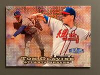 1996 Flair Showcase Tom Glavine Showstopper SP /1000 Row 0 Atlanta Braves HOF