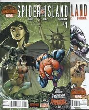 (2015) SPIDER-ISLAND #1-2 SECRET WARS! AVENGERS! VENOM! MC2 SPIDER-GIRL BACK UP!