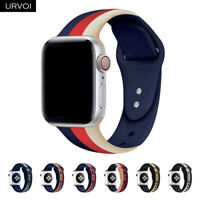 Replace Silicone Wrist Bracelet Sport Band Strap For Apple Watch 4 3 2 5 40/44mm