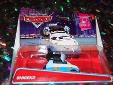 """DISNEY PIXAR CARS """"SHIGEKO"""" Die-Cast Metal, Scale 1:55, NEWl"""