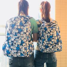 "DORAEMON Oxford de mochila de viaje mochila de estudiante muro impermeable 17"" Nuevo"