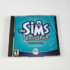 The Sims: Unleashed Expansion Pack (PC, 2002) (2-Disc Game, Manual & Case)