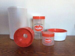 EasiYo Yogurt Maker White And Red 1Kg + Bonus Small Pot
