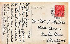 Genealogy Postcard - Family History - Hindle - Newton Drive - Blackpool  2079