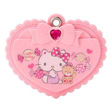 Hello Kitty Slide Mirror & Comb Pink Heart ❤ SANRIO Japan