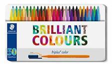 Staedtler Fasermaler Triplus brilliant Colours 50er Etui